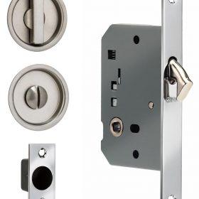 Item No.3910S (Sliding Pocket Door Mortise Lock - Solid Brass)