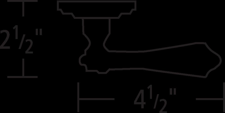 #55/00 Lever Line Art