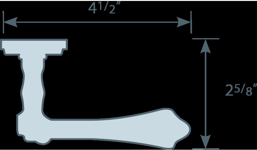 #55/45 Lever Line Art