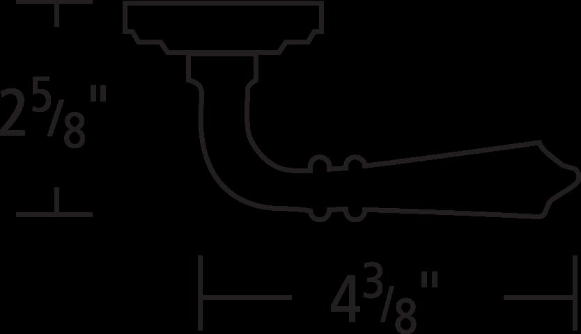 #752/00 Lever Line Art