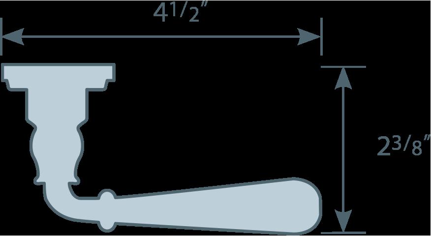 #918/45 Lever Line Art
