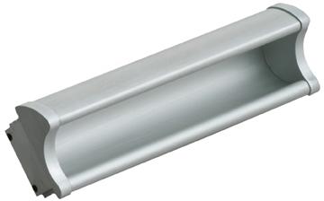 Item No.AL599 (Modern Aluminum Pull – Solid Aluminum)