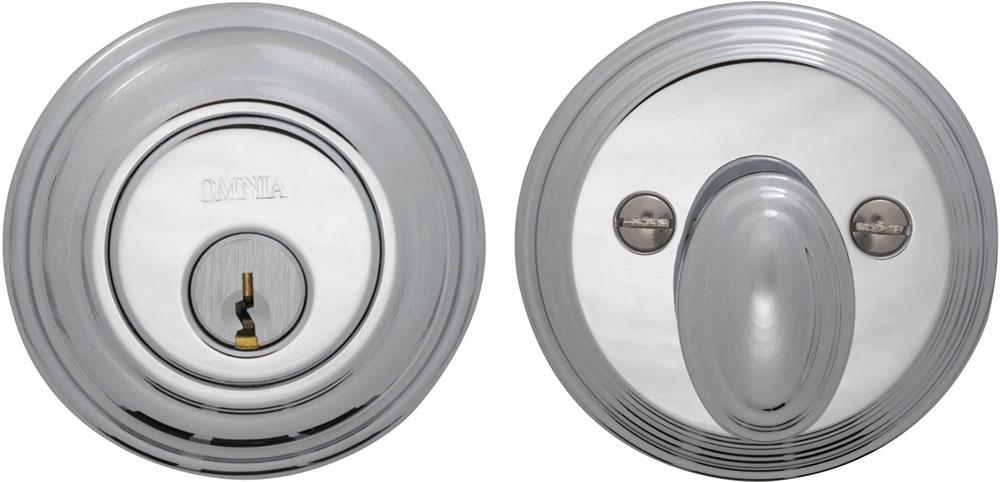 Item No.COLDB (US26 Polished Chrome Plated)
