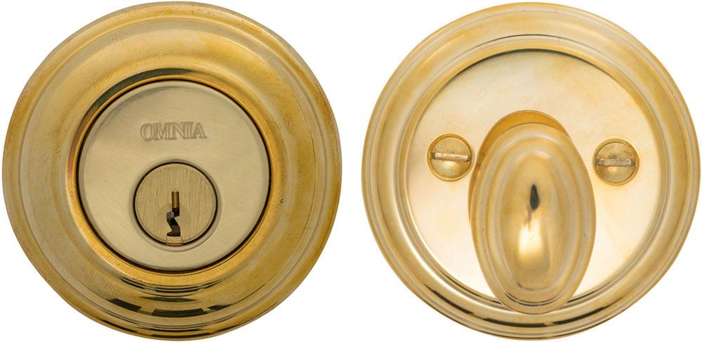 Item No.COLDB (US3A Polished Brass, Unlacquered)