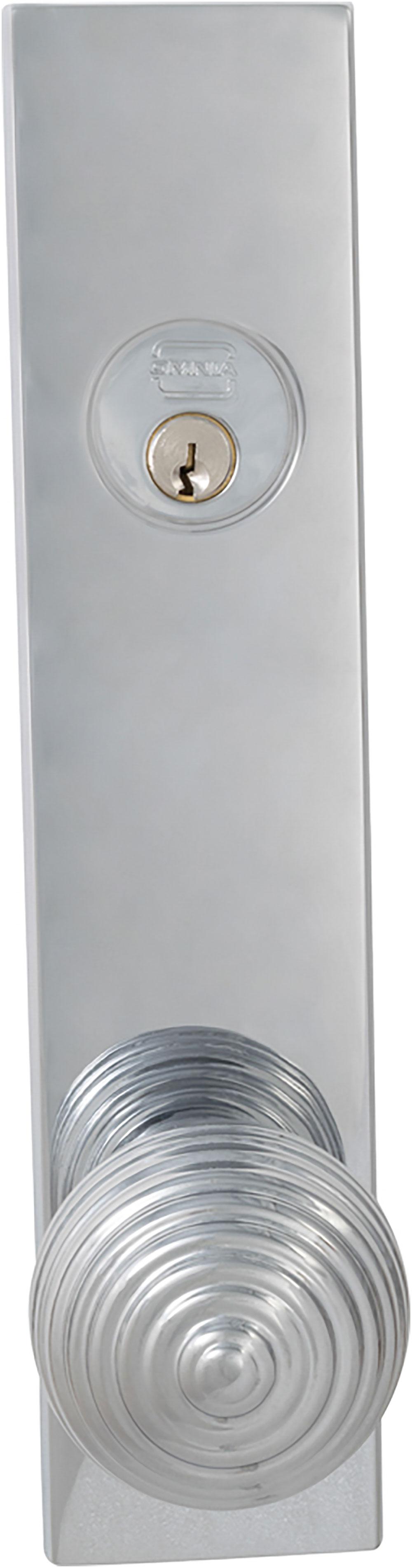 Item No.D12415 (US26 Polished Chrome Plated)