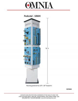 OMNIA Pedestal – 18WH Display